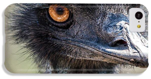 Emu Eyes IPhone 5c Case by Paul Freidlund