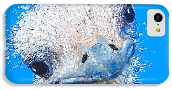Emu Painting IPhone 5c Case by Jan Matson