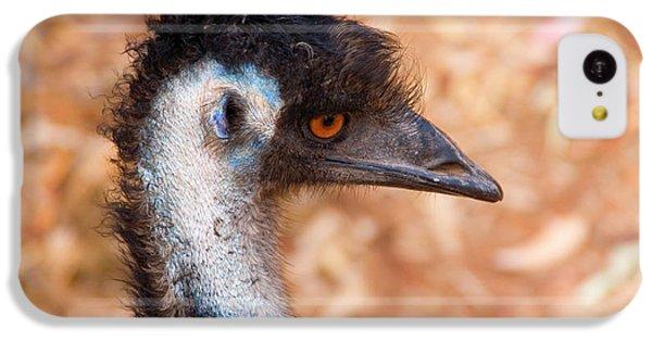 Emu Profile IPhone 5c Case by Mike  Dawson