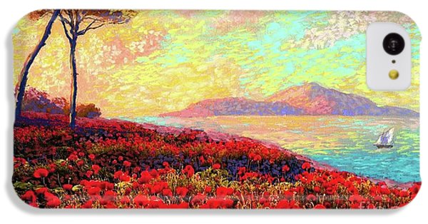 Enchanted By Poppies IPhone 5c Case