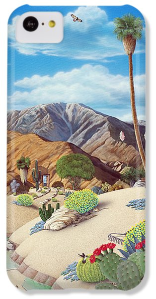 Desert iPhone 5c Case - Enchanted Desert by Snake Jagger