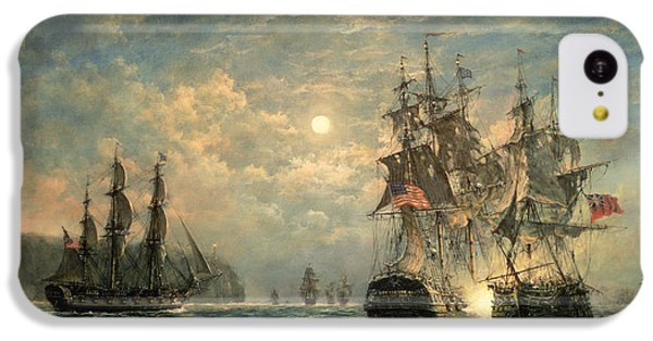 Engagement Between The 'bonhomme Richard' And The ' Serapis' Off Flamborough Head IPhone 5c Case