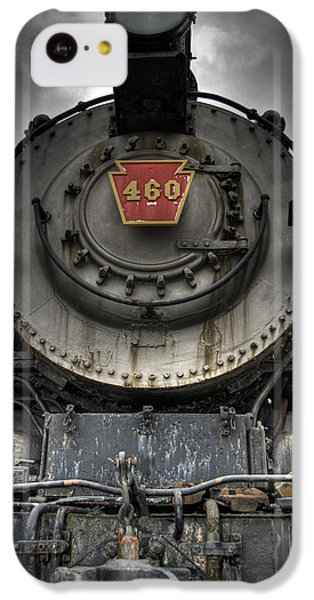 Train iPhone 5c Case - Engine 460 Front And Center by Scott Wyatt