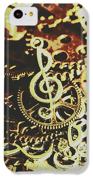 Sound iPhone 5c Case - Engineering The Music Industry by Jorgo Photography - Wall Art Gallery