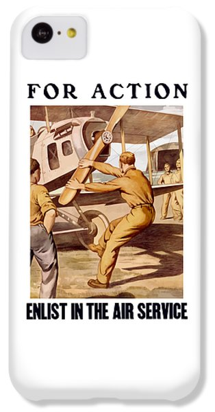 Enlist In The Air Service IPhone 5c Case