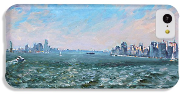 Entering In New York Harbor IPhone 5c Case by Ylli Haruni