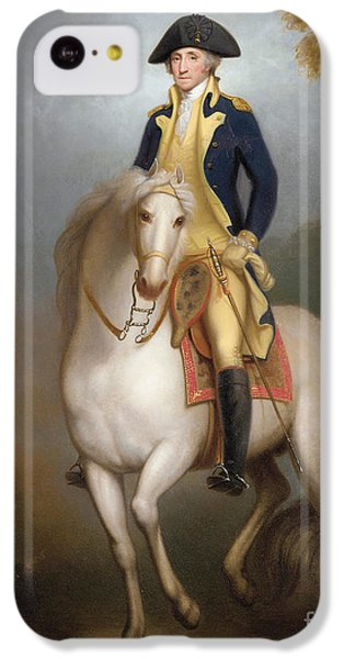 Equestrian Portrait Of George Washington IPhone 5c Case by Rembrandt Peale