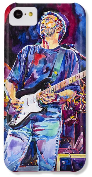 Eric Clapton iPhone 5c Case - Eric Clapton And Blackie by David Lloyd Glover