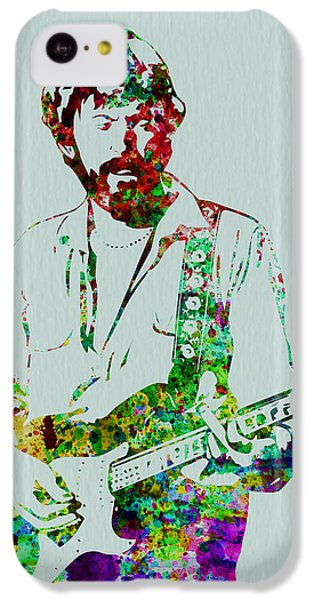 Eric Clapton iPhone 5c Case - Eric Clapton by Naxart Studio