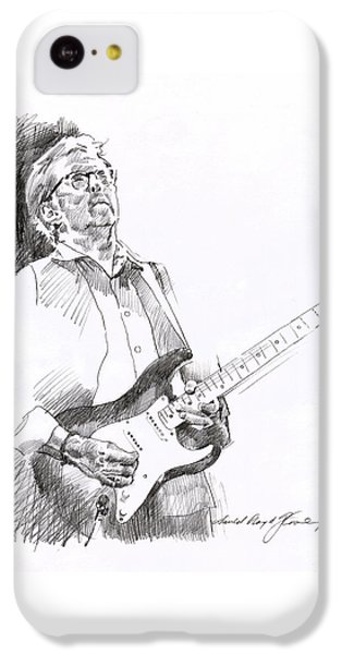 Eric Clapton Joy IPhone 5c Case by David Lloyd Glover