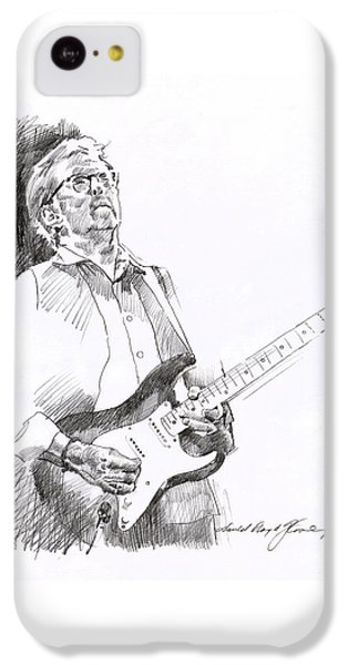 Eric Clapton iPhone 5c Case - Eric Clapton Joy by David Lloyd Glover