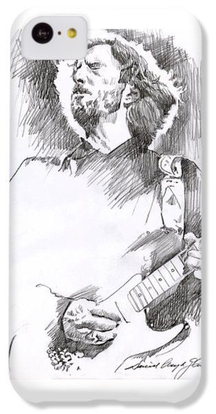 Eric Clapton Sustains IPhone 5c Case by David Lloyd Glover
