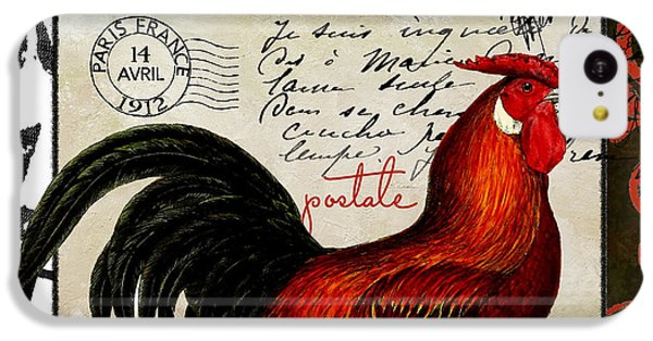 Europa Rooster II IPhone 5c Case by Mindy Sommers