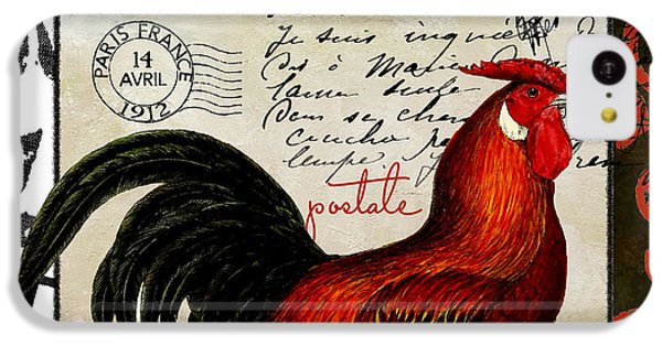 Rooster iPhone 5c Case - Europa Rooster II by Mindy Sommers