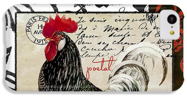 Europa Rooster IIi IPhone 5c Case by Mindy Sommers