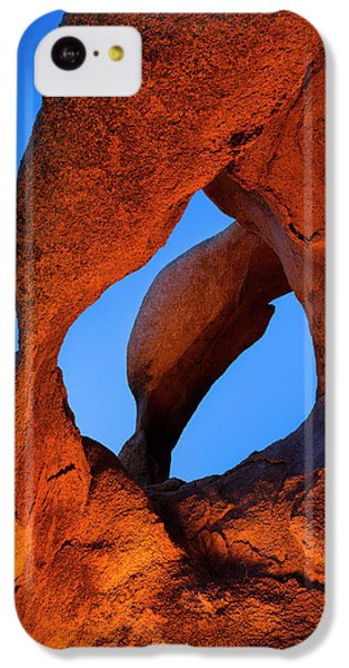 Evening's  Eye IPhone 5c Case by Mike Lang