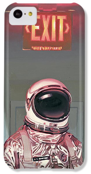 Exit IPhone 5c Case by Scott Listfield