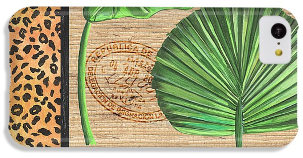 Cheetah iPhone 5c Case - Exotic Palms 2 by Debbie DeWitt