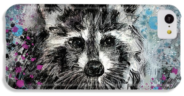 Expressive Raccoon IPhone 5c Case