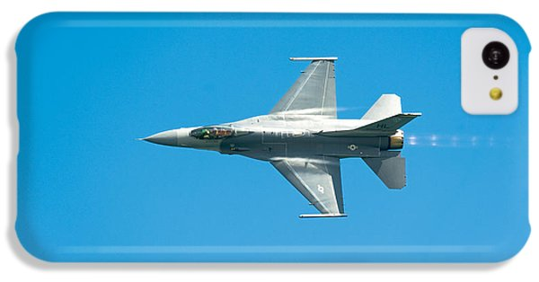 F-16 Full Speed IPhone 5c Case by Sebastian Musial