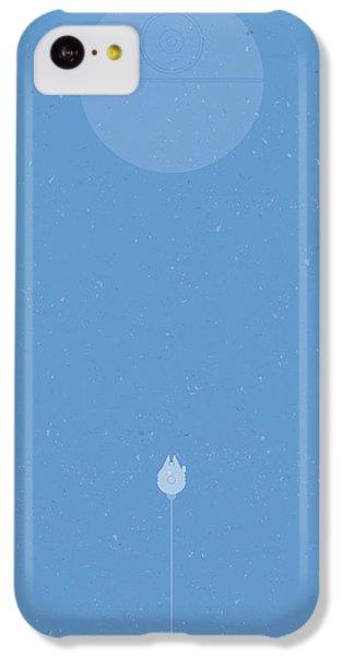 Falcon iPhone 5c Case - Falcon Attack by Samuel Whitton