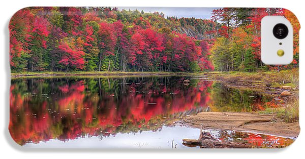 IPhone 5c Case featuring the photograph Fall Color At The Pond by David Patterson