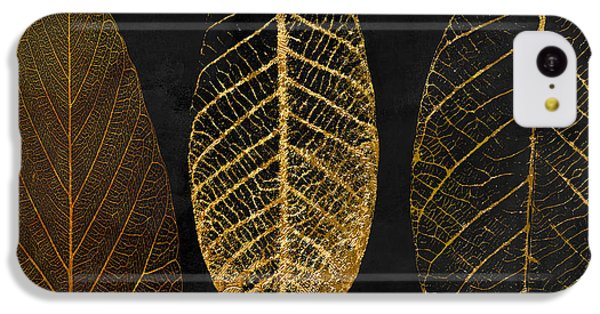 Fallen Gold II Autumn Leaves IPhone 5c Case by Mindy Sommers