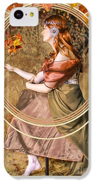 Falling Leaves IPhone 5c Case
