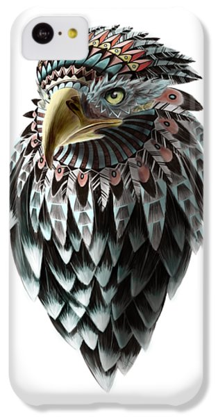 Falcon iPhone 5c Case - Fantasy Eagle by Sassan Filsoof