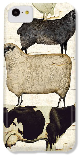 Farm Animals Pileup IPhone 5c Case