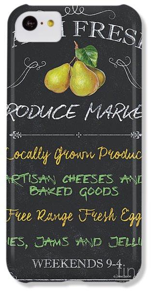 Chicken iPhone 5c Case - Farm Fresh Produce by Debbie DeWitt
