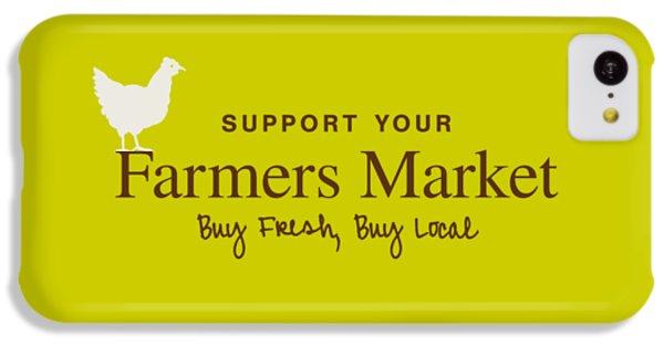 Farmers Market IPhone 5c Case by Nancy Ingersoll