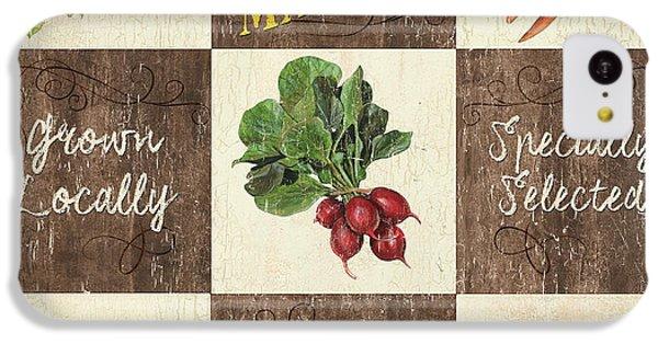 Farmer's Market Patch IPhone 5c Case by Debbie DeWitt