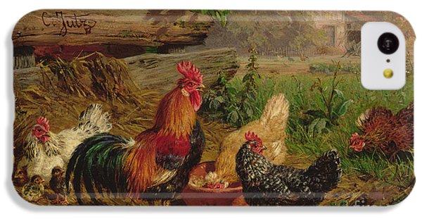 Farmyard Chickens IPhone 5c Case