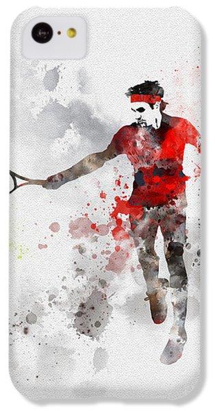 Federer IPhone 5c Case by Rebecca Jenkins