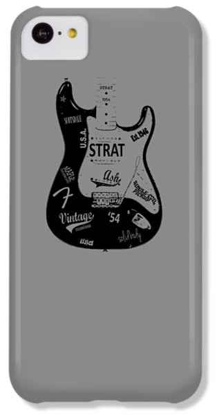 Fender Stratocaster 54 IPhone 5c Case by Mark Rogan
