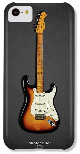 Music iPhone 5c Case - Fender Stratocaster 54 by Mark Rogan