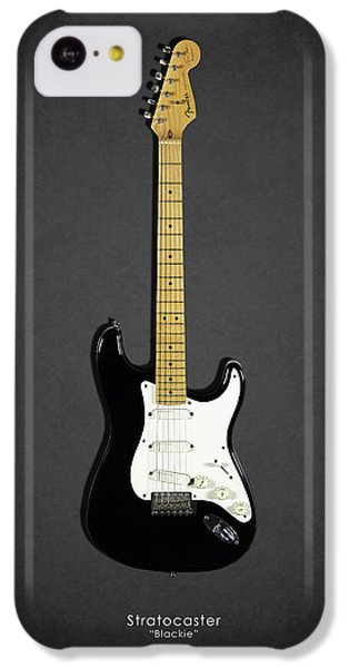 Eric Clapton iPhone 5c Case - Fender Stratocaster Blackie 77 by Mark Rogan