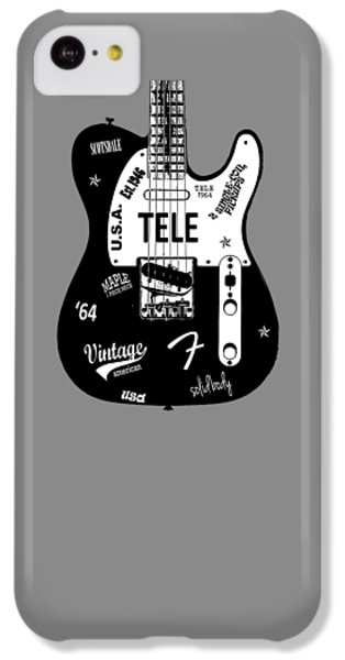 Fender Telecaster 64 IPhone 5c Case by Mark Rogan