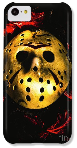 Hockey iPhone 5c Case - Fields Of A Killers Wake by Jorgo Photography - Wall Art Gallery