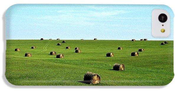 Fields Of Green IPhone 5c Case by Mark Mickelsen