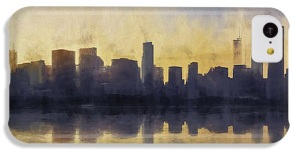Fire In The Sky Chicago At Sunset IPhone 5c Case