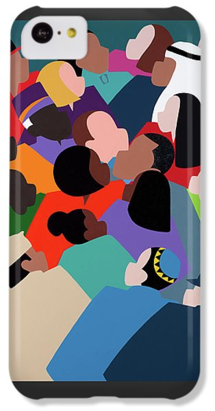 iPhone 5c Case - First Family The Obamas by Synthia SAINT JAMES