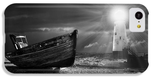 Fishing Boat Graveyard 7 IPhone 5c Case by Meirion Matthias