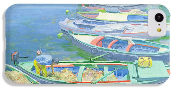 Fishing Boats IPhone 5c Case by William Ireland