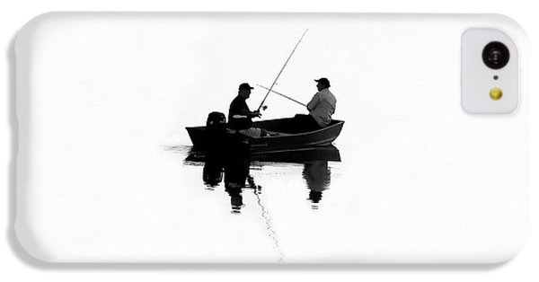 Fishing Buddies IPhone 5c Case by David Lee Thompson