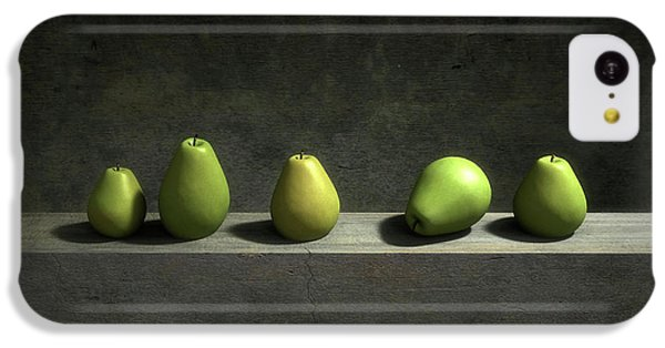 Still Life iPhone 5c Case - Five Pears by Cynthia Decker