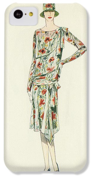 Flapper In An Afternoon Dress IPhone 5c Case by American School