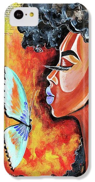iPhone 5c Case - Flawed by Artist RiA