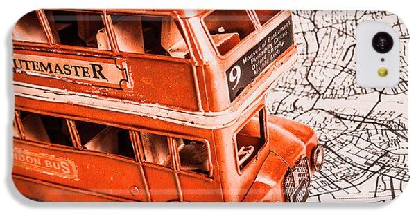 Navigation iPhone 5c Case - Fleet Street by Jorgo Photography - Wall Art Gallery
